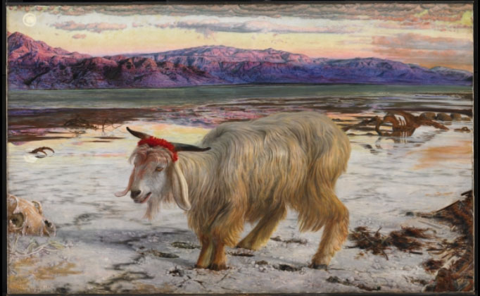 The Scapegoat (1854-5), William Holman Hunt