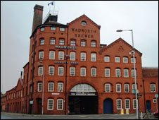 Wadworth's Brewery in Devizes