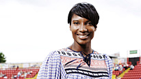 Denise Lewis gives her expert views on the athletics from Delhi
