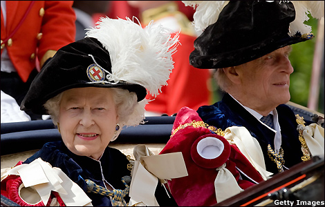 15.06.09: Order of the Garter at Windsor