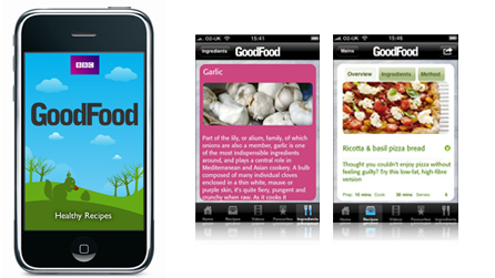 Bbc press office bbc worldwides good food healthy recipes app bbc worldwides good food healthy recipes app now available from the app store forumfinder Images