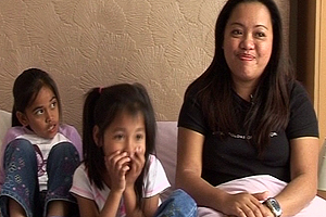 Arvy Macalinao trained as nurse in the Philipines and moved to the UK to give her daughters the best life she could.