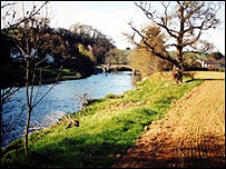 The river at Umberleigh