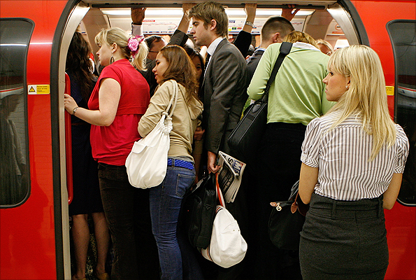 Crowding on the Tube