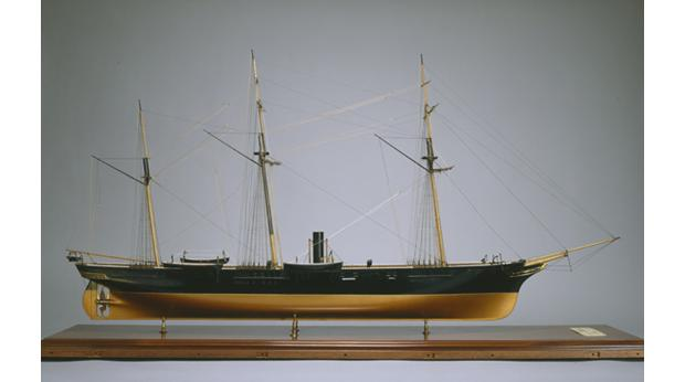 Model of CSS Alabama, Confederate Navy, American Civil War; © Wirral Museums Service