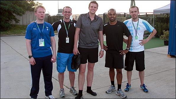The BBC F1 Running Club!