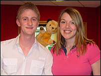 Chris Brindley, Sooty and Katharine Sutton