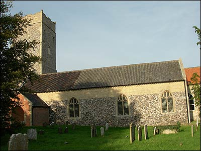 Benacre Church by Peggy Cannell