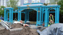 The Victorian Aviary garden takes shape