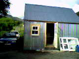 the tin shed nearly complete