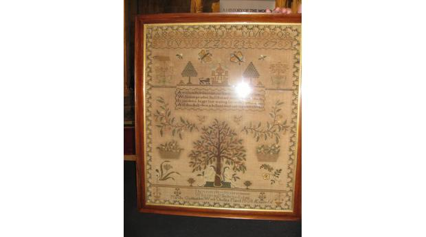 1808 Adam and Eve Sampler