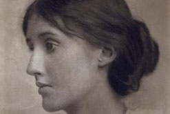 Portrait of Virginia Woolf (1882-1941) by George Charles Beresford (1864-1938), Victorian studio photographer