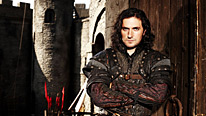 Gisborne (Richard Armitage) is Robin's unlikely ally … for a while
