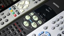 A collection of remote controls