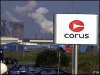 Corus Llanwern plant, South Wales
