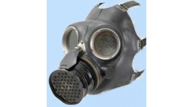 Gas mask from Coventry Blitz