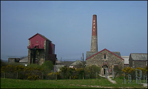 Cornish Mines and Engines at Pool near Redruth