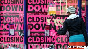 Closing down sale in Wigan