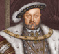 A portrait of Henry VIII who was crowned king at the age of 18.