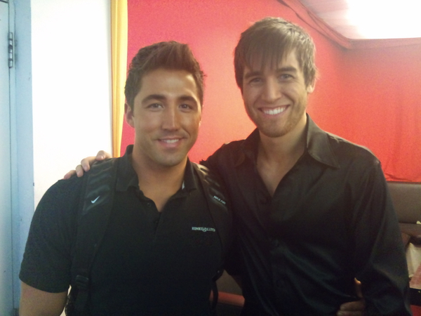 Gavin Henson and Jared Murillo