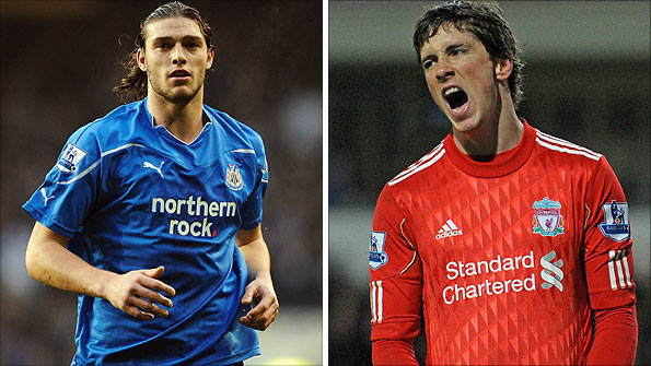 Andy Carroll and Fernando Torres cost a combined £85m on transfer deadline day