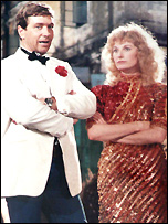 Vic and his wife Wendy Leech in Temple Of Doom
