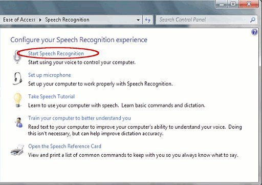 BBC - My Web My Way - Using voice recognition in Windows 7