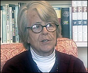 Historian, Dr. Barbara English.