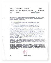 A memo from Michael Mills to Paul Fox about Dad's Army.