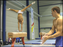 Pommel training