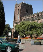 Bbc Shropshire Places Newport Town Guide