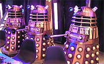 Picture of some Daleks
