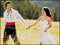 Hrithik Roshan and Barbara Mori in Kites