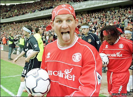 Dean Windass during his time at Middlesbrough