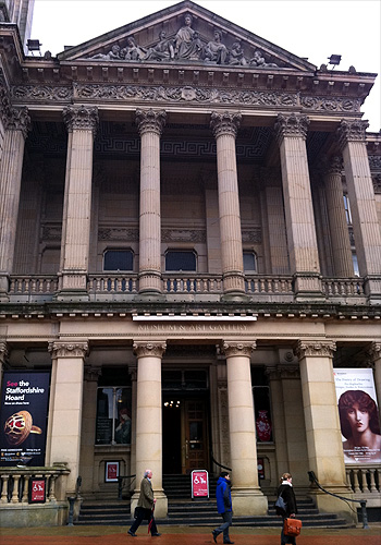 The front of the Birmingham Museum and Art Gallery