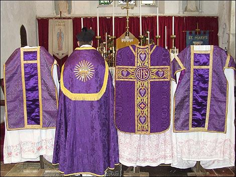 Image result for purple vestments