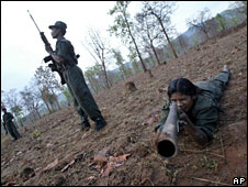 Maoist rebels in India