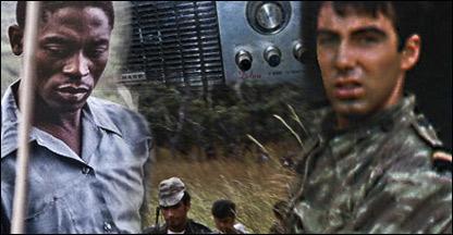 guerrilheiro soldado e rádio