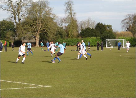 The Football League exit trials at Bisham Abbey