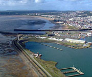 Aerial picture of Swansea