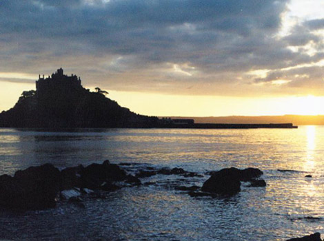 St Michaels Mount by Michele Hallam
