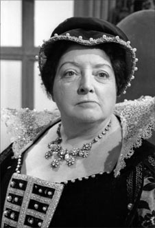 The philanthropist Catherine De Medici, as portrayed by Joan Young in Doctor Who (1966)