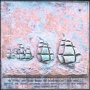 Saumarez memorial plaque