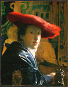 Vermeer's Girl with Red Hat