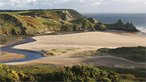 Three Cliffs Bay by deejswansea