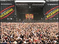 Reading Festival main stage