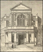 Theatre Royal in Exeter 1886