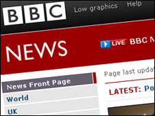 BBC News website image