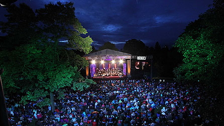 BBC Proms in the Park in the grounds of Hillsborough Castle