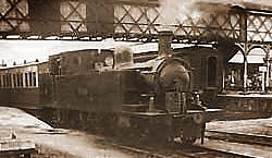 Steam Train at Londonderry Station